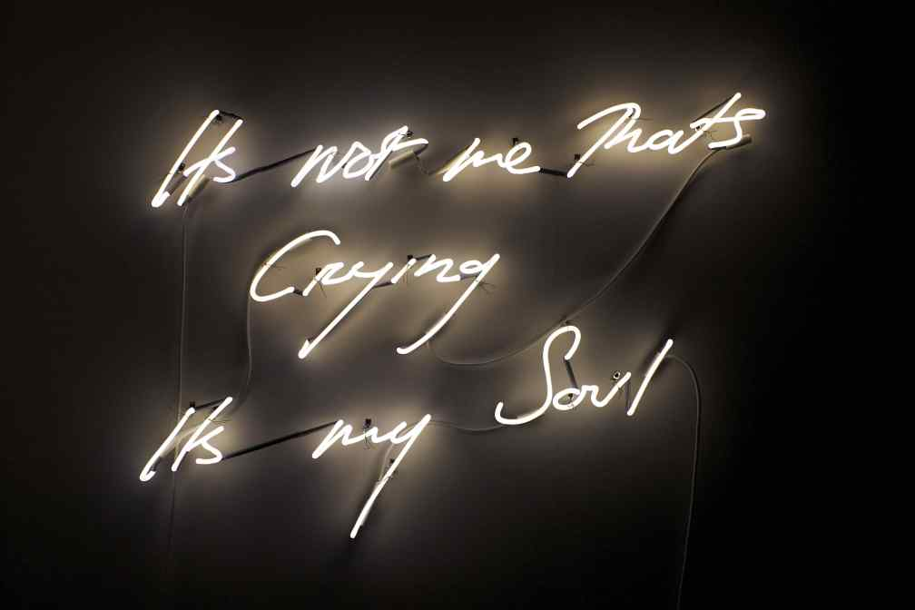 Tracey-Emin-Its-not-me-Thats-Crying-Its-my-Soul-neon-150x90cm-2011-Artist-Proof