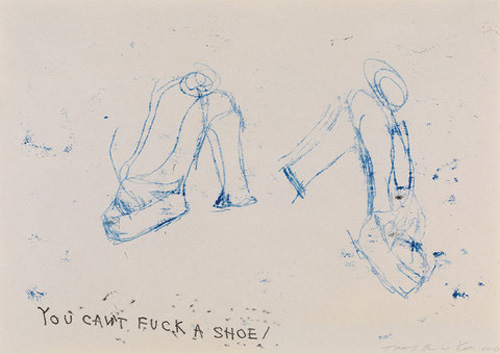 Tracey_Emin_You_Cant_Fuck_A_Shoe