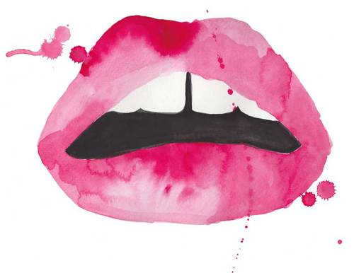 the-aestate-lips-watercolor-pink-red-fashion-illustration-etsy_large1